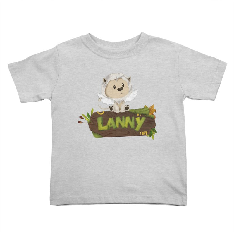 Lanny the Lion Kids Toddler T-Shirt by Mimundogames's Artist Shop