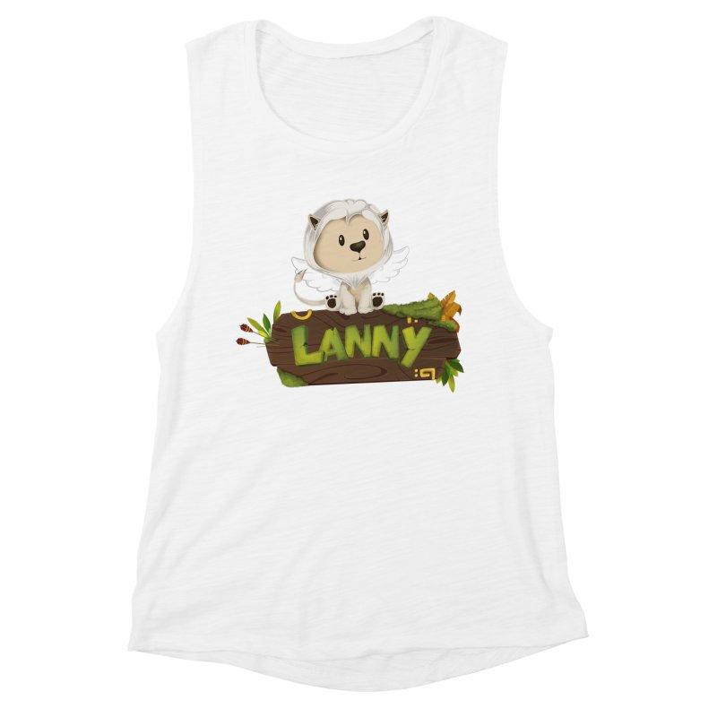 Lanny the Lion Women's Muscle Tank by Mimundogames's Artist Shop