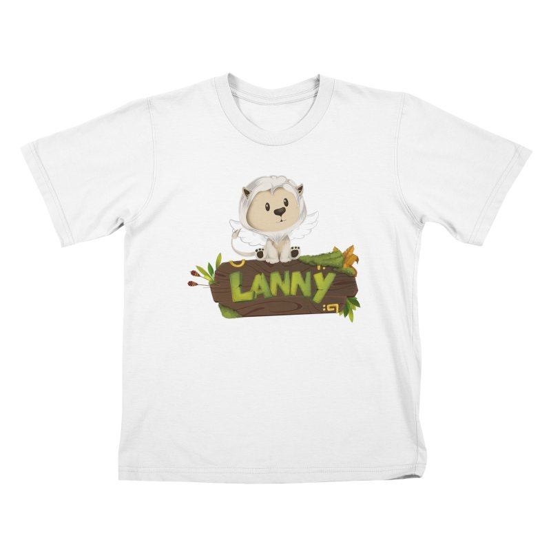 Lanny the Lion Kids T-Shirt by Mimundogames's Artist Shop