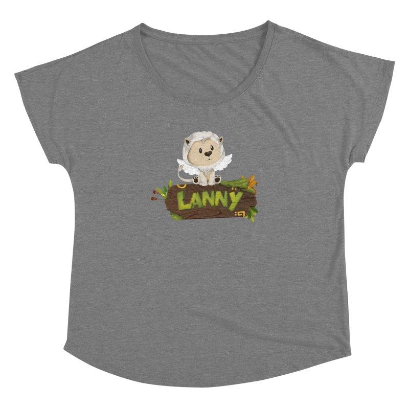 Lanny the Lion Women's Scoop Neck by Mimundogames's Artist Shop