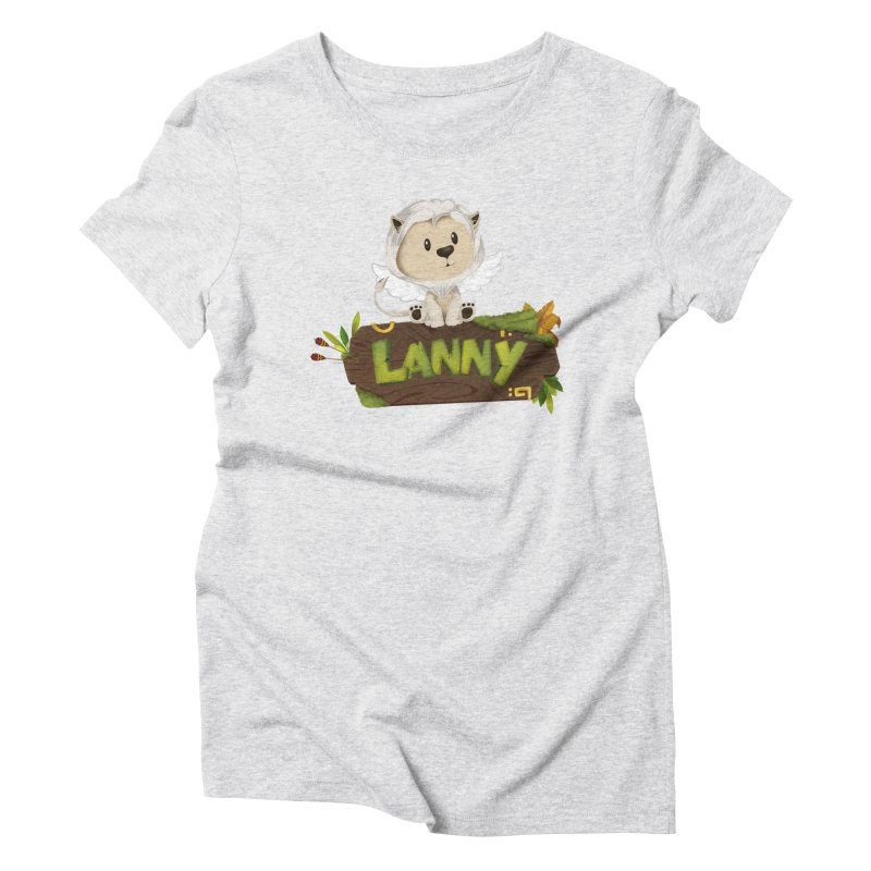 Lanny the Lion Women's T-Shirt by Mimundogames's Artist Shop