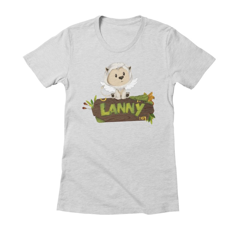 Lanny the Lion Women's T-Shirt by Mimundogames's Artist Shop