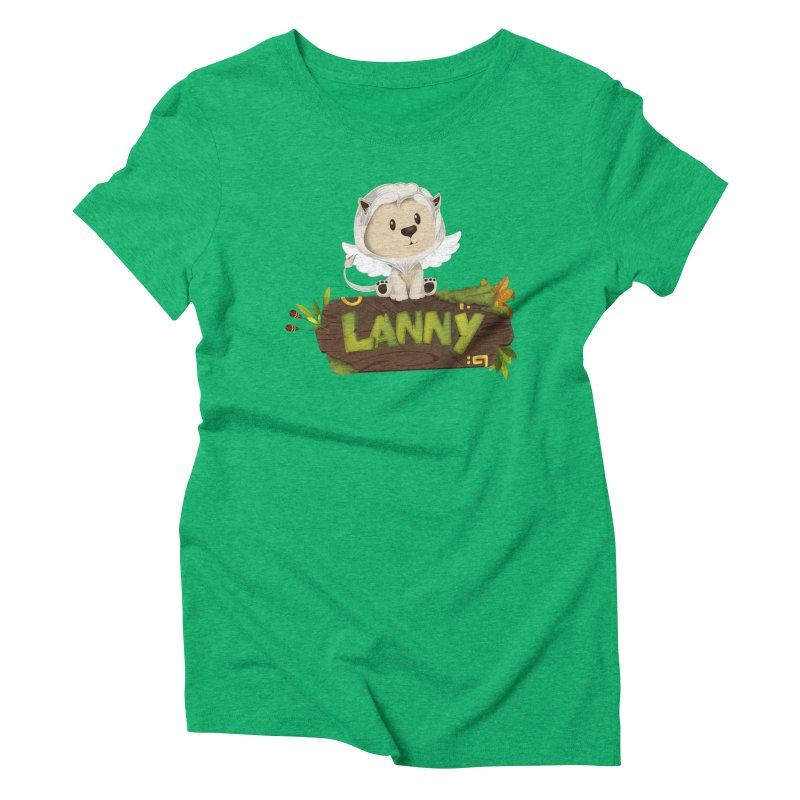 Lanny the Lion Women's Triblend T-Shirt by Mimundogames's Artist Shop