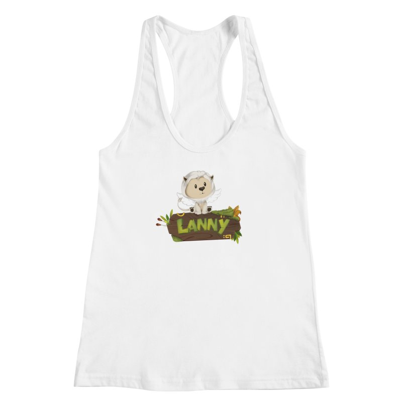 Lanny the Lion Women's Racerback Tank by Mimundogames's Artist Shop
