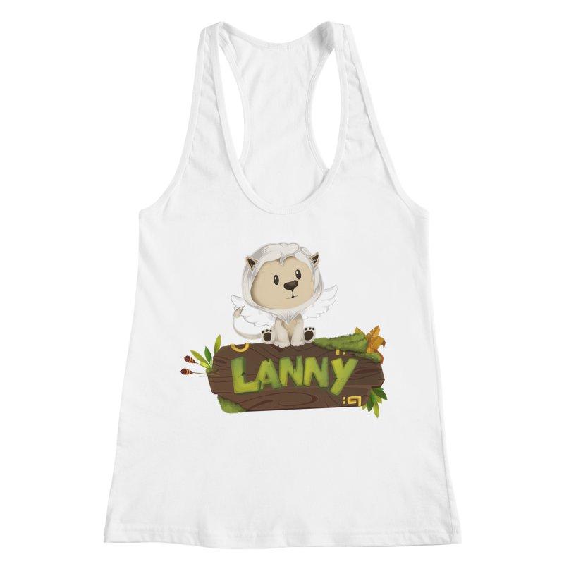Lanny the Lion Women's Racerback Tank by Mimundogames's Artist Shop