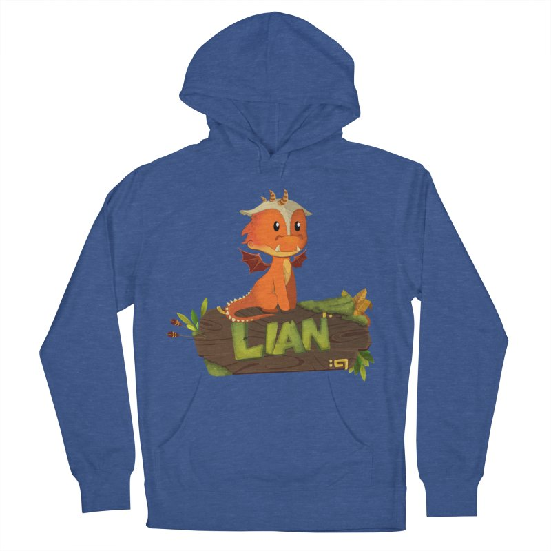 Lian the Dragon Women's Pullover Hoody by Mimundogames's Artist Shop