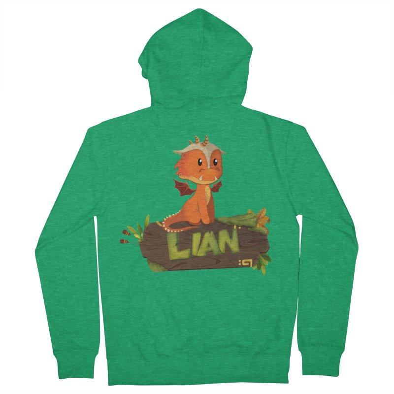 Lian the Dragon Women's Zip-Up Hoody by Mimundogames's Artist Shop
