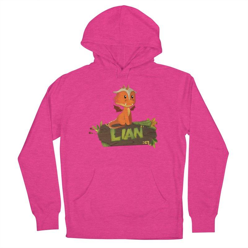 Lian the Dragon Women's Pullover Hoody by Mimundogames's Artist Shop