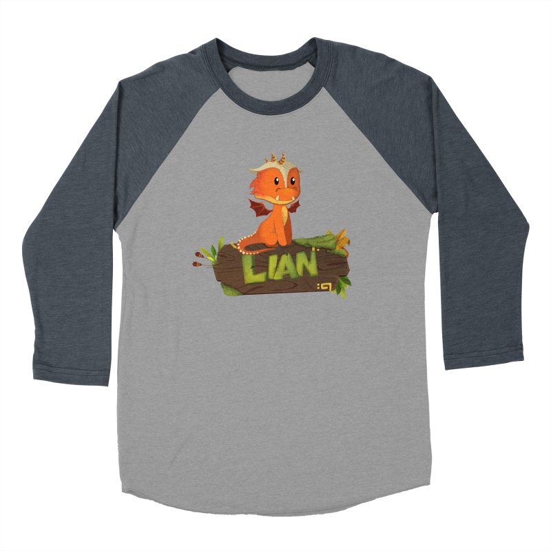 Lian the Dragon Women's Longsleeve T-Shirt by Mimundogames's Artist Shop