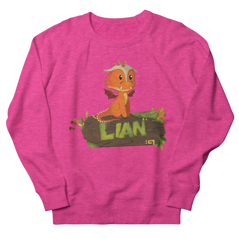 Lian the Dragon Women's French Terry Sweatshirt by Mimundogames's Artist Shop
