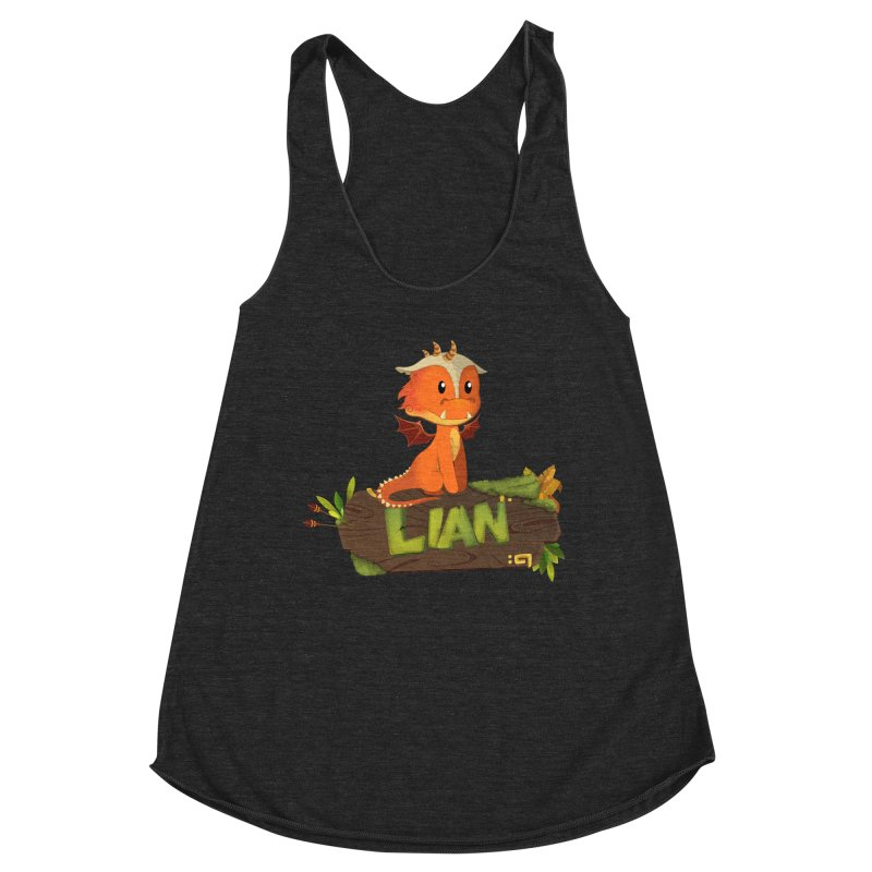 Lian the Dragon Women's Tank by Mimundogames's Artist Shop