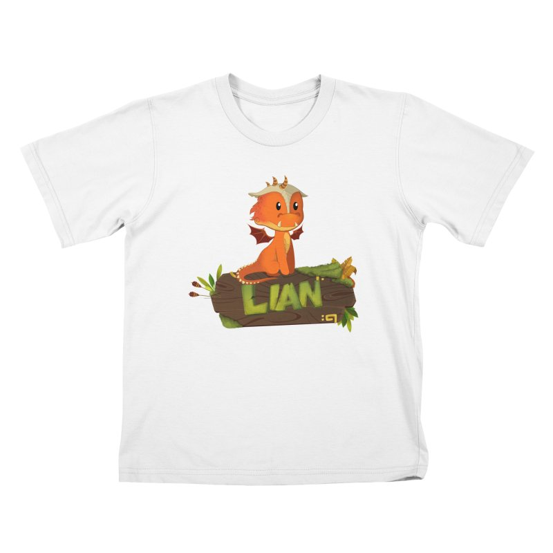 Lian the Dragon Kids T-Shirt by Mimundogames's Artist Shop