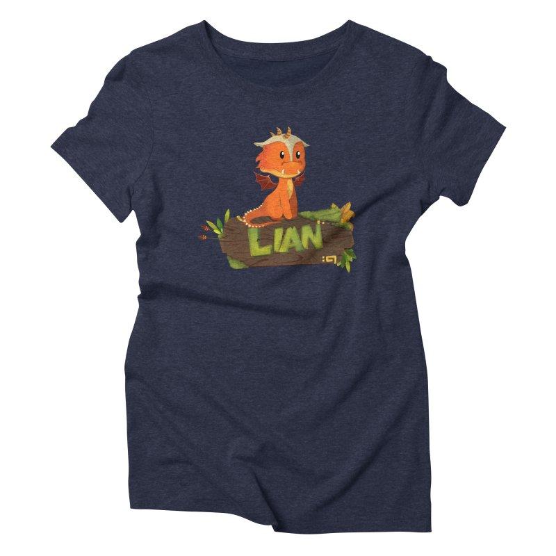 Lian the Dragon Women's Triblend T-Shirt by Mimundogames's Artist Shop