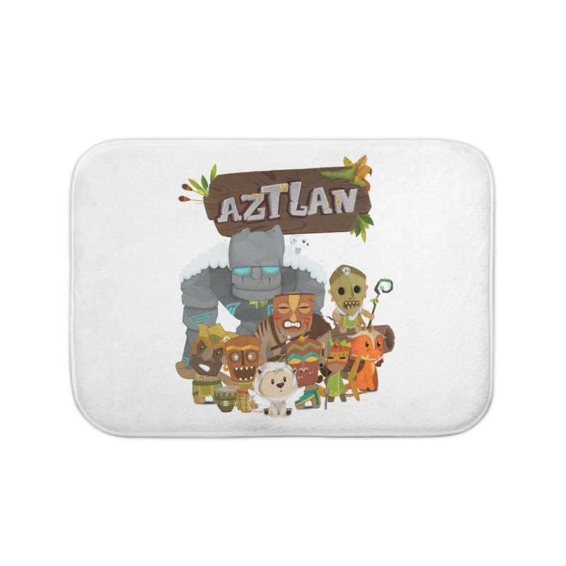 Aztlan - All Characters Home Bath Mat by Mimundogames's Artist Shop