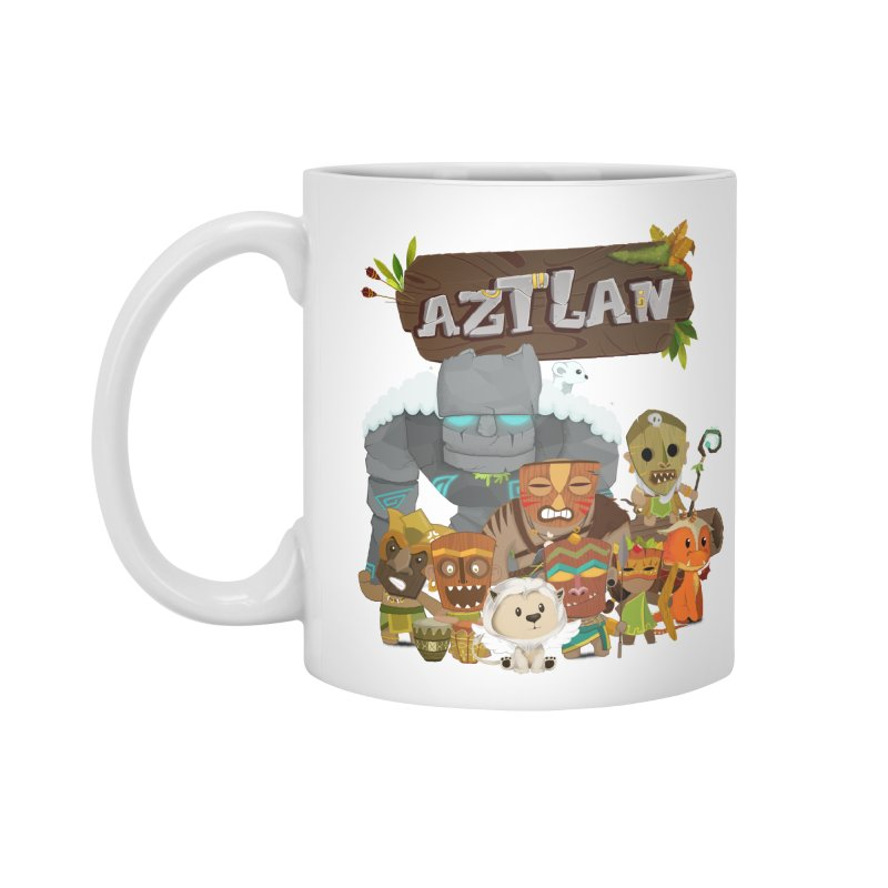 Aztlan - All Characters Accessories Standard Mug by Mimundogames's Artist Shop