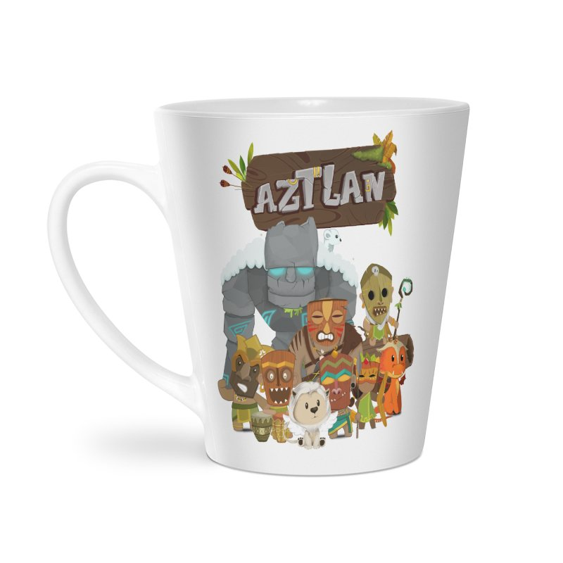 Aztlan - All Characters Accessories Latte Mug by Mimundogames's Artist Shop