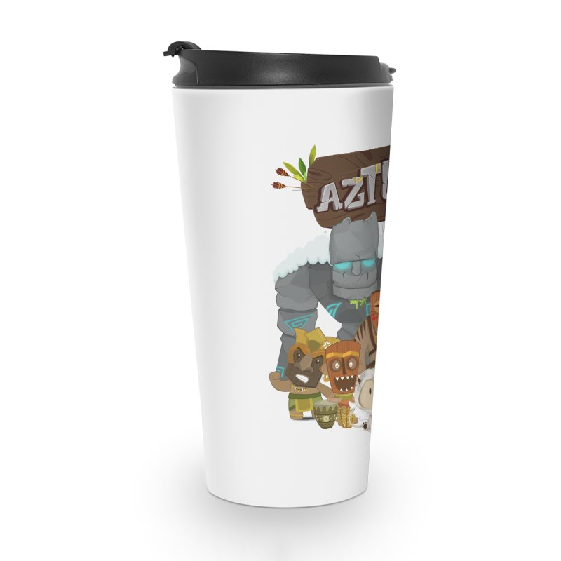 Aztlan - All Characters Accessories Travel Mug by Mimundogames's Artist Shop