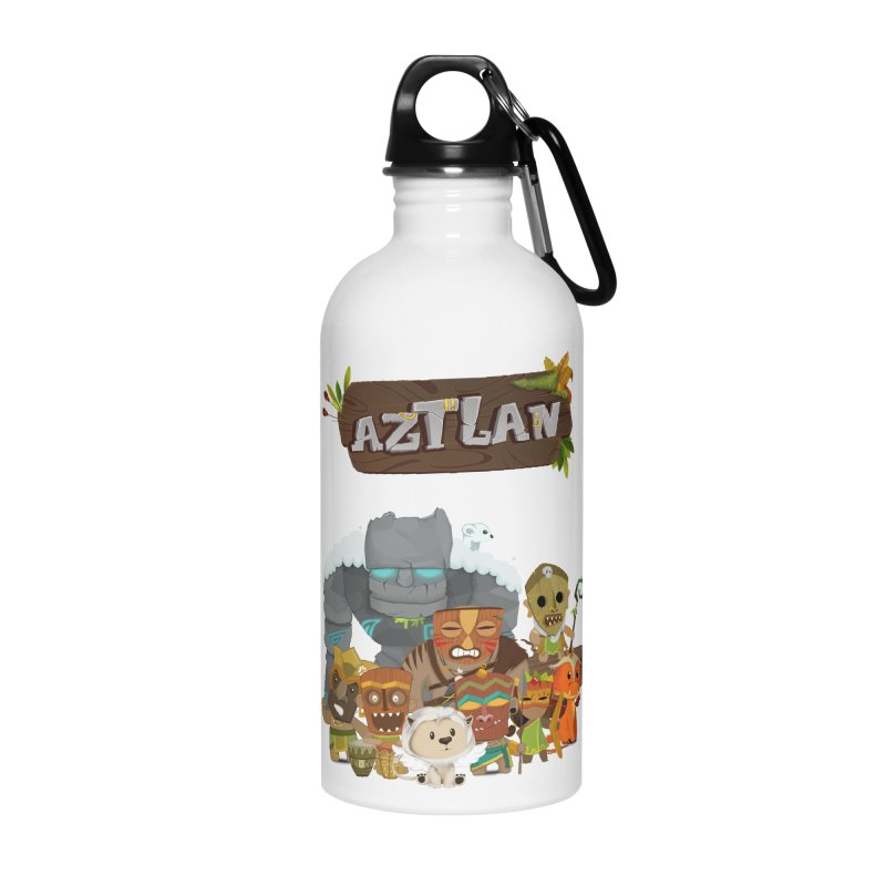 Aztlan - All Characters Accessories Water Bottle by Mimundogames's Artist Shop