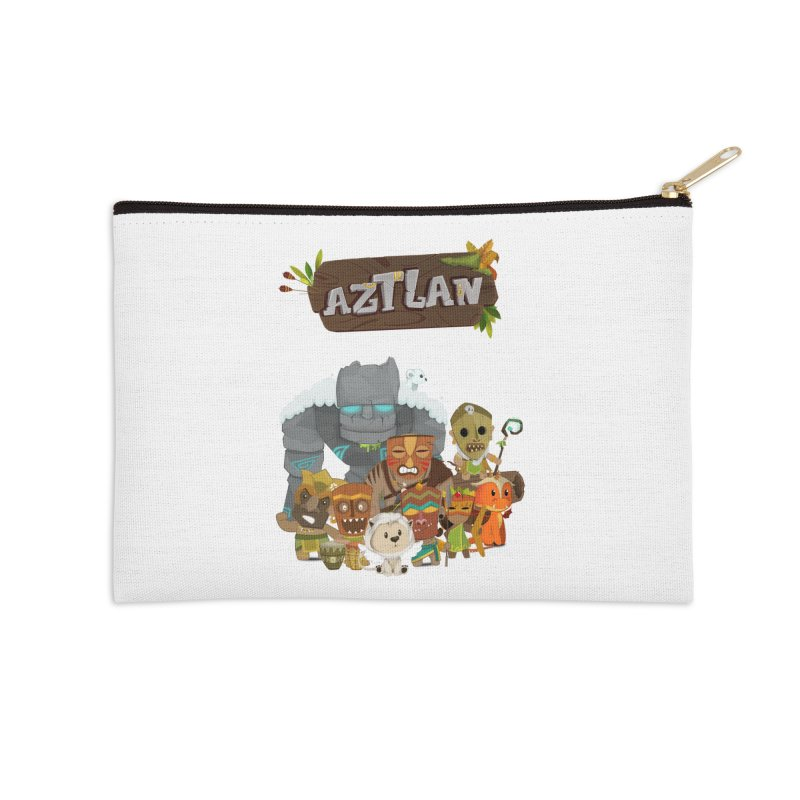 Aztlan - All Characters Accessories Zip Pouch by Mimundogames's Artist Shop