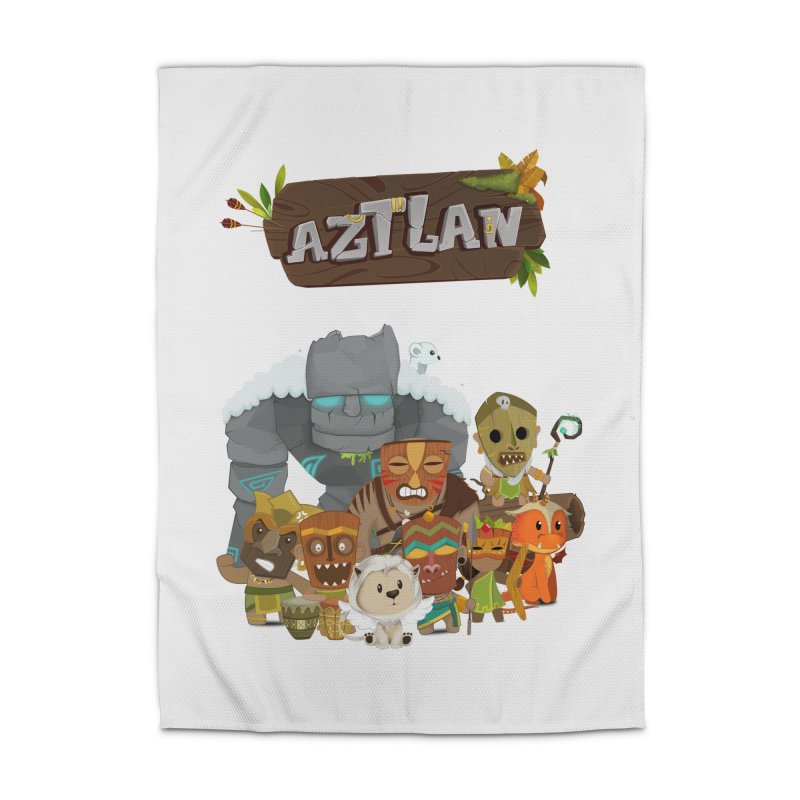 Aztlan - All Characters Home Rug by Mimundogames's Artist Shop