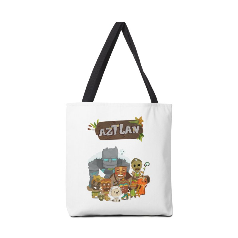 Aztlan - All Characters Accessories Bag by Mimundogames's Artist Shop
