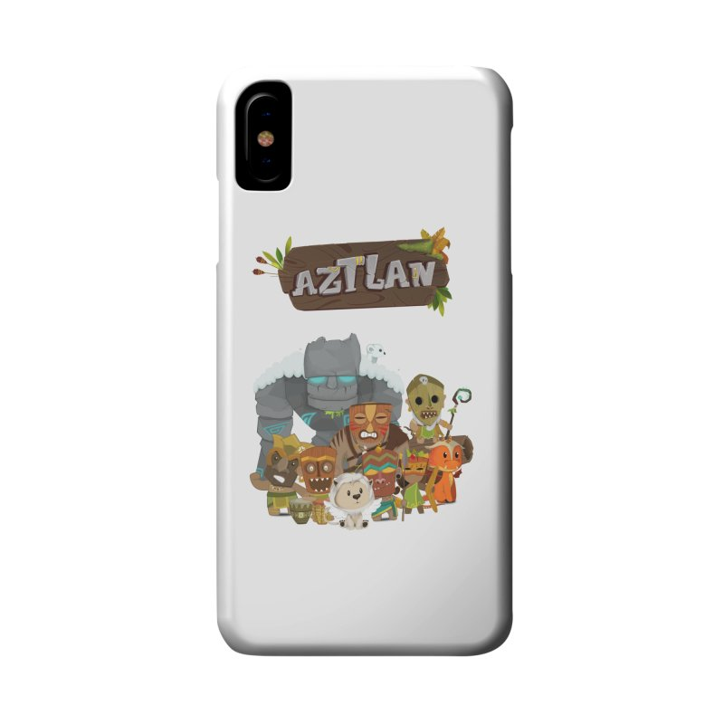 Aztlan - All Characters Accessories Phone Case by Mimundogames's Artist Shop