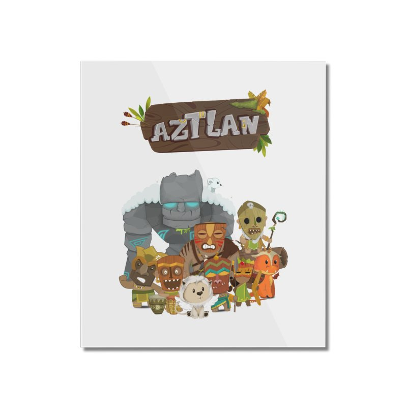 Aztlan - All Characters Home Mounted Acrylic Print by Mimundogames's Artist Shop