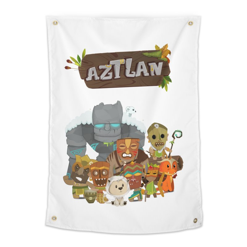 Aztlan - All Characters Home Tapestry by Mimundogames's Artist Shop