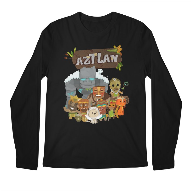 Aztlan - All Characters Men's Longsleeve T-Shirt by Mimundogames's Artist Shop