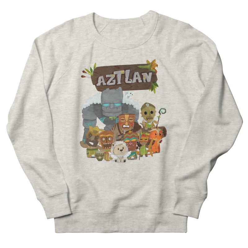 Aztlan - All Characters Men's Sweatshirt by Mimundogames's Artist Shop