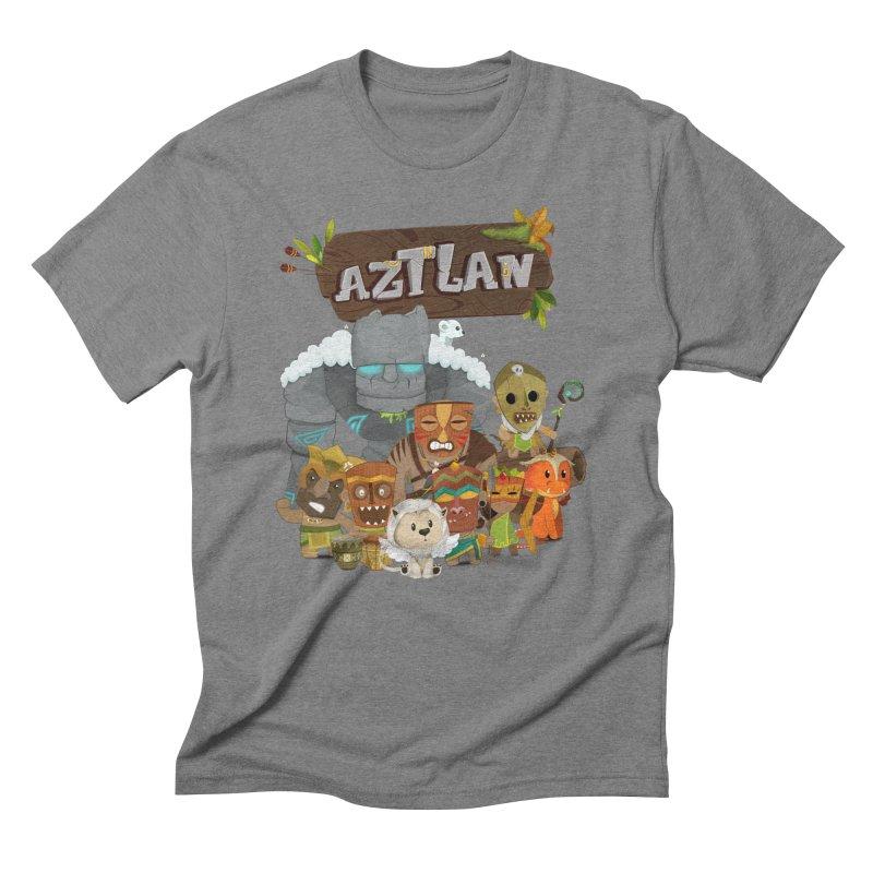 Aztlan - All Characters Men's T-Shirt by Mimundogames's Artist Shop