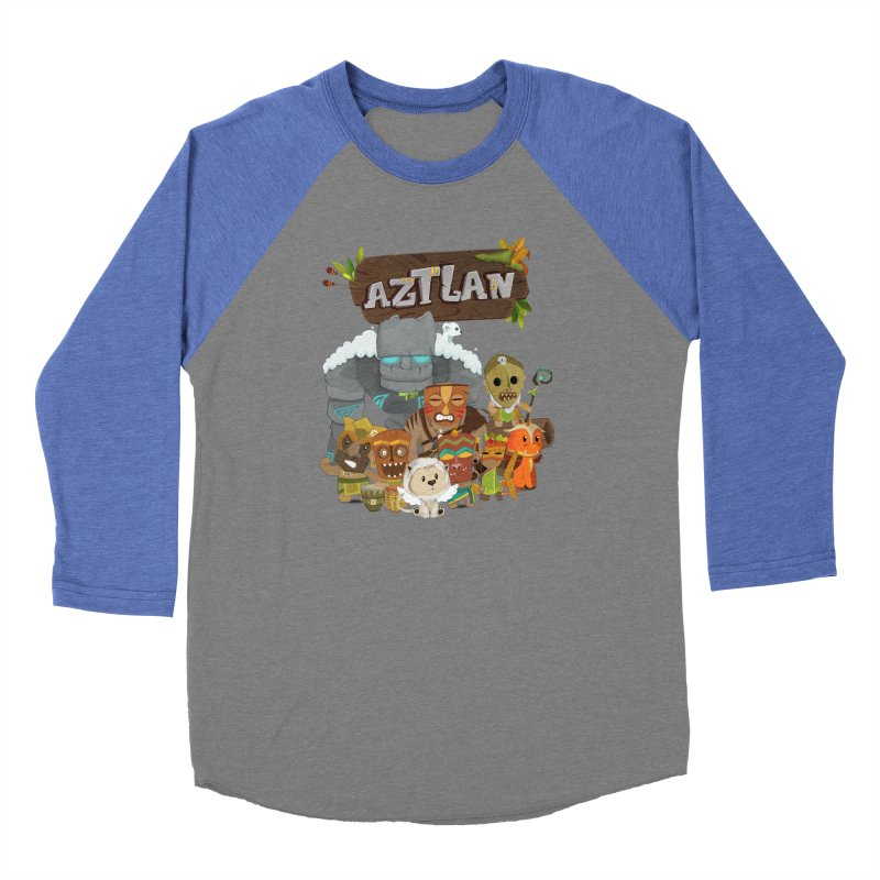 Aztlan - All Characters Women's Longsleeve T-Shirt by Mimundogames's Artist Shop