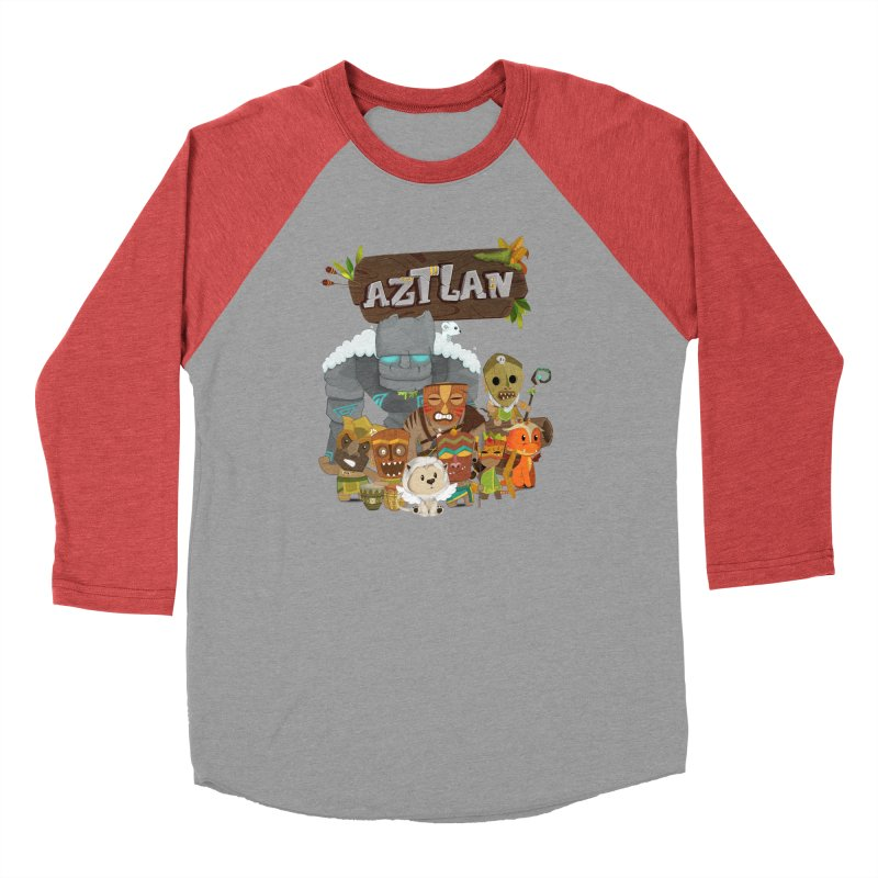 Aztlan - All Characters Men's Longsleeve T-Shirt by Mimundogames's Artist Shop