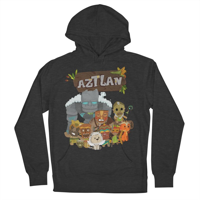 Aztlan - All Characters Women's French Terry Pullover Hoody by Mimundogames's Artist Shop