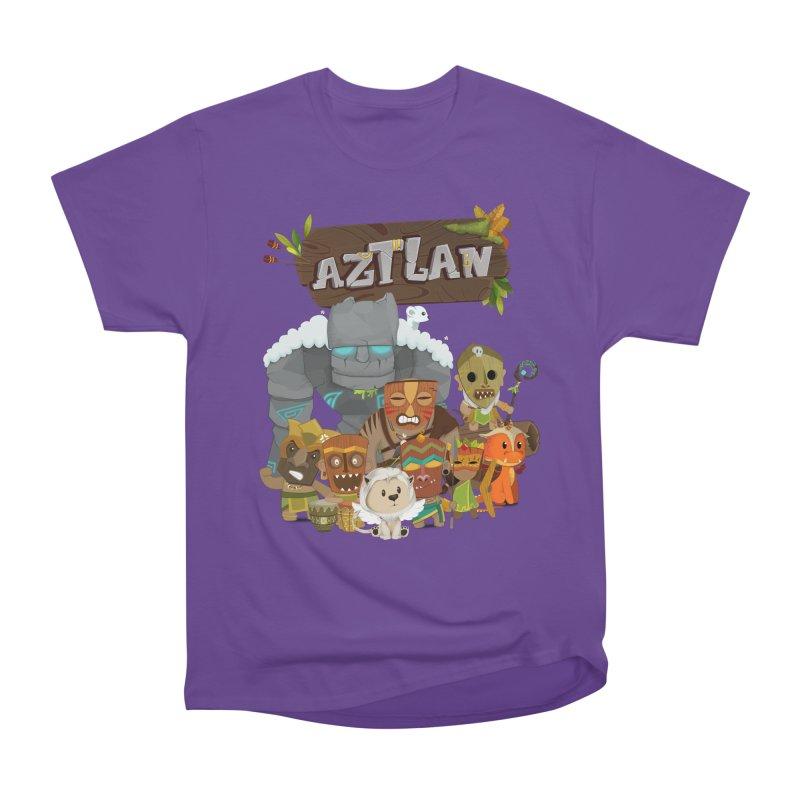 Aztlan - All Characters Women's Heavyweight Unisex T-Shirt by Mimundogames's Artist Shop
