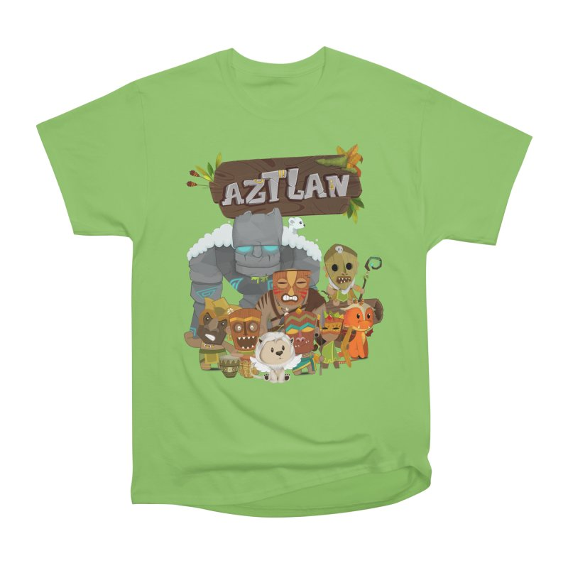 Aztlan - All Characters Women's Heavyweight Unisex T-Shirt by Mimundogames's Artist Shop