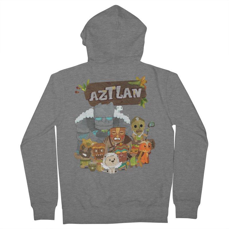Aztlan - All Characters Women's Zip-Up Hoody by Mimundogames's Artist Shop