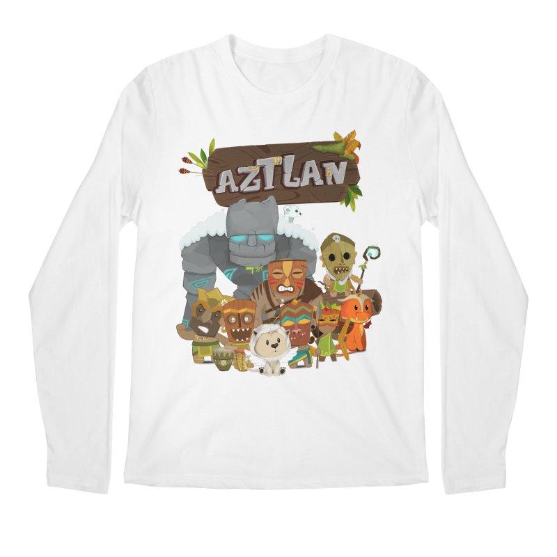Aztlan - All Characters Men's Regular Longsleeve T-Shirt by Mimundogames's Artist Shop