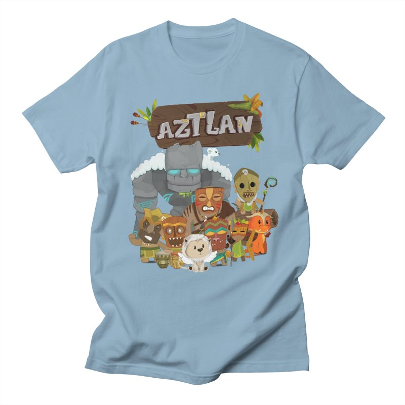 Aztlan - All Characters Women's Regular Unisex T-Shirt by Mimundogames's Artist Shop