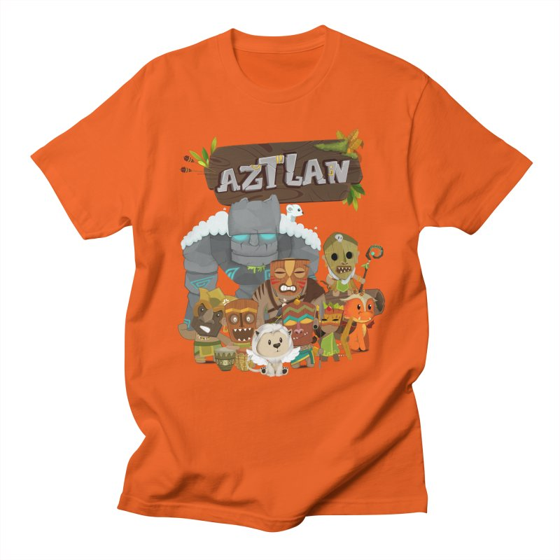 Aztlan - All Characters Men's Regular T-Shirt by Mimundogames's Artist Shop
