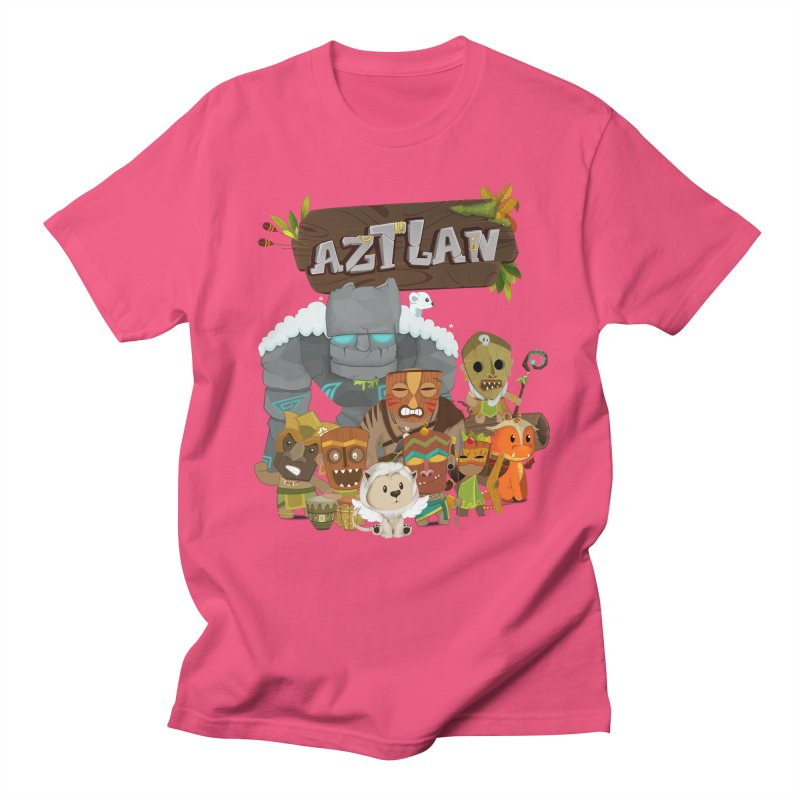Aztlan - All Characters Women's Regular Unisex T-Shirt by Mimundogames's Artist Shop