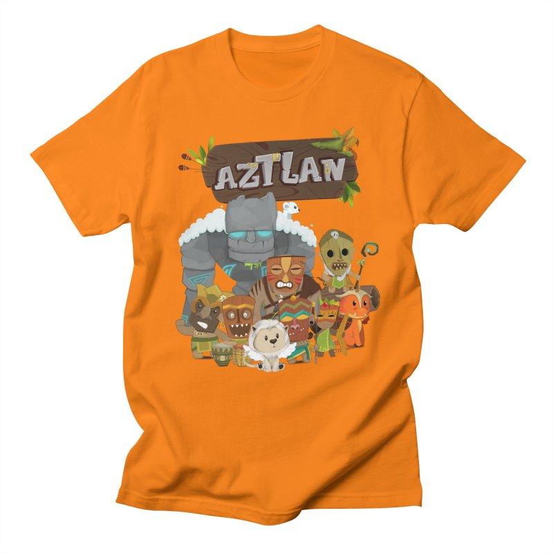 Aztlan - All Characters Men's Regular T-Shirt by Mimundogames's Artist Shop