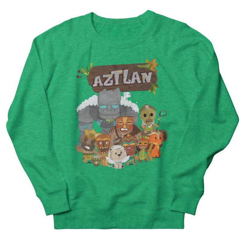 Aztlan - All Characters Men's French Terry Sweatshirt by Mimundogames's Artist Shop