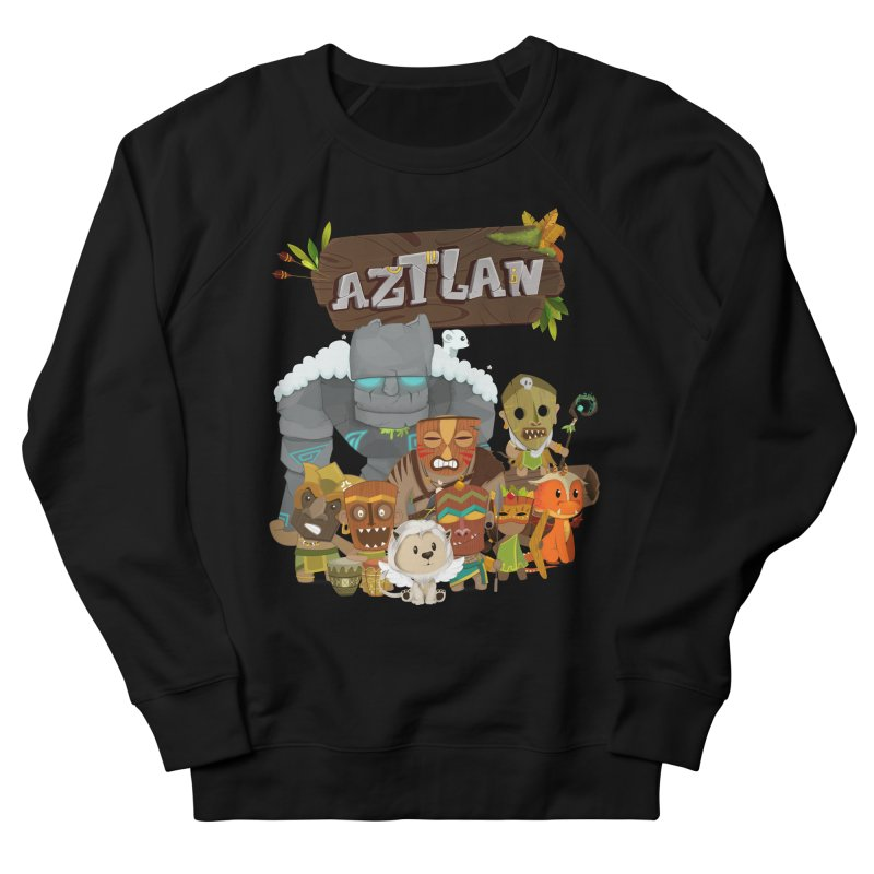 Aztlan - All Characters Men's French Terry Sweatshirt by Mimundogames's Artist Shop