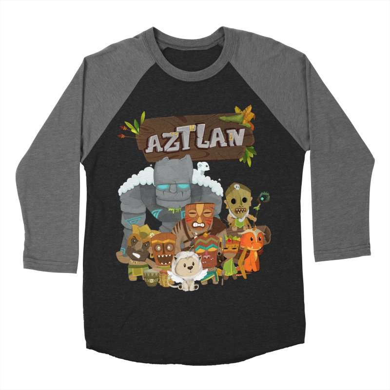 Aztlan - All Characters Women's Baseball Triblend Longsleeve T-Shirt by Mimundogames's Artist Shop