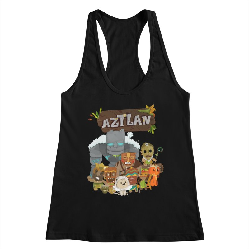 Aztlan - All Characters Women's Tank by Mimundogames's Artist Shop