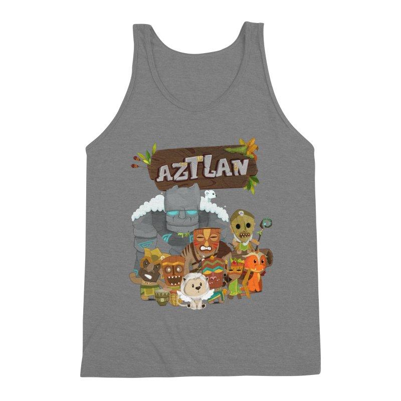 Aztlan - All Characters Men's Triblend Tank by Mimundogames's Artist Shop