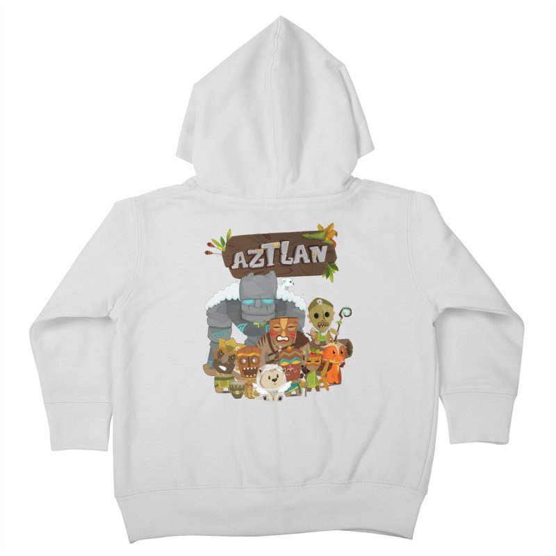 Aztlan - All Characters Kids Toddler Zip-Up Hoody by Mimundogames's Artist Shop