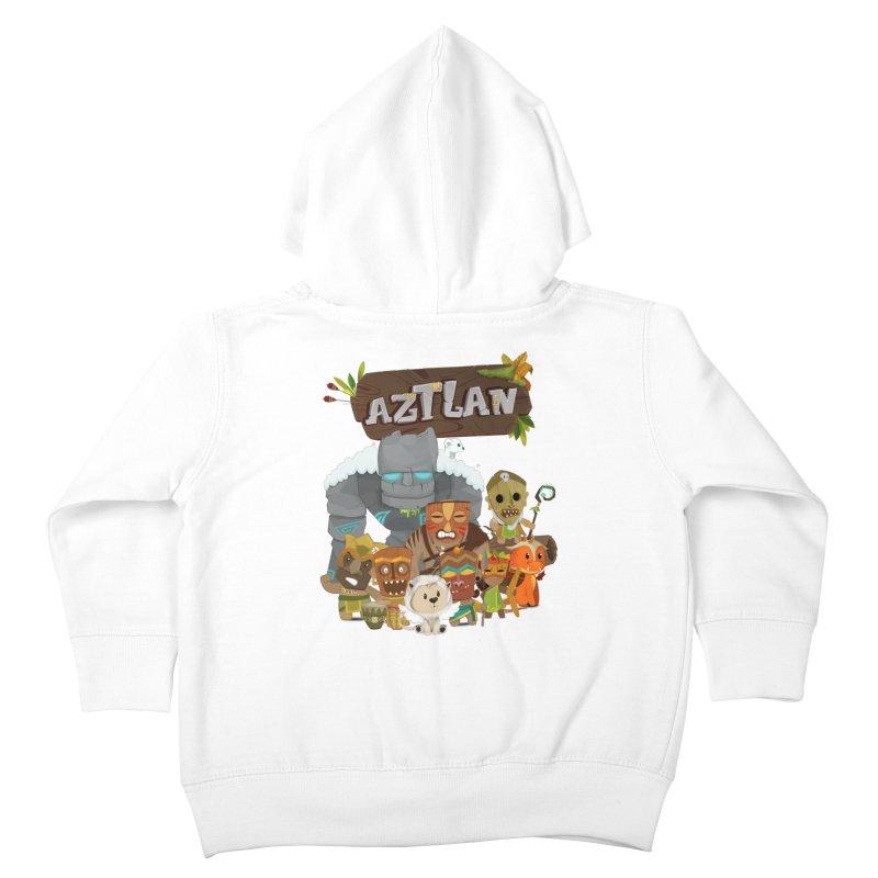 Aztlan - All Characters Kids Toddler Zip-Up Hoody by Mimundogames's Artist Shop