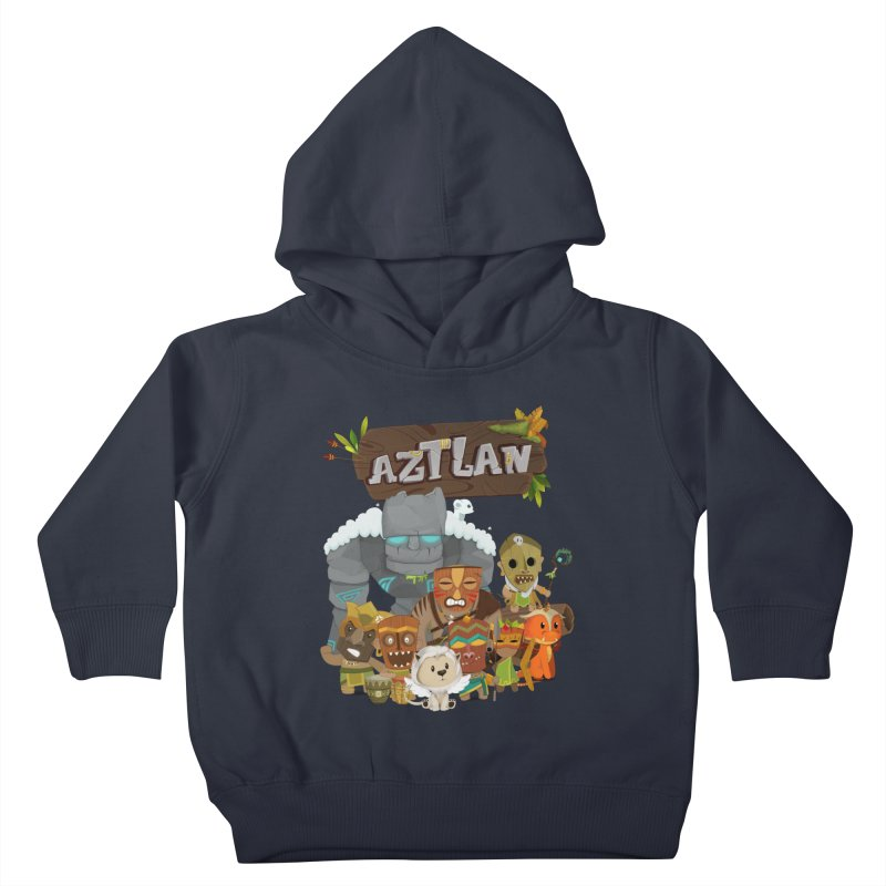 Aztlan - All Characters Kids Toddler Pullover Hoody by Mimundogames's Artist Shop